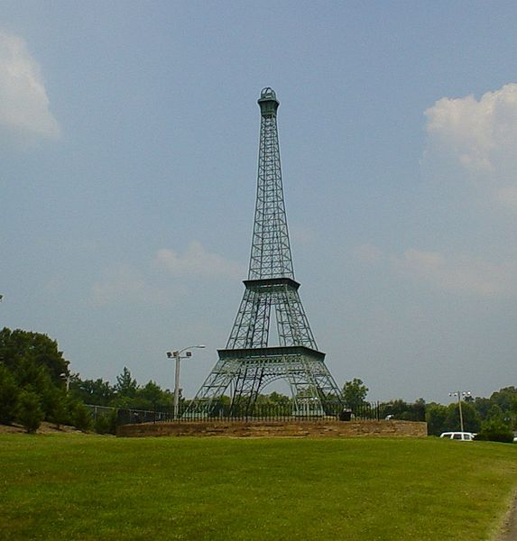 Tour Paris Tennessee - Mytoureiffel