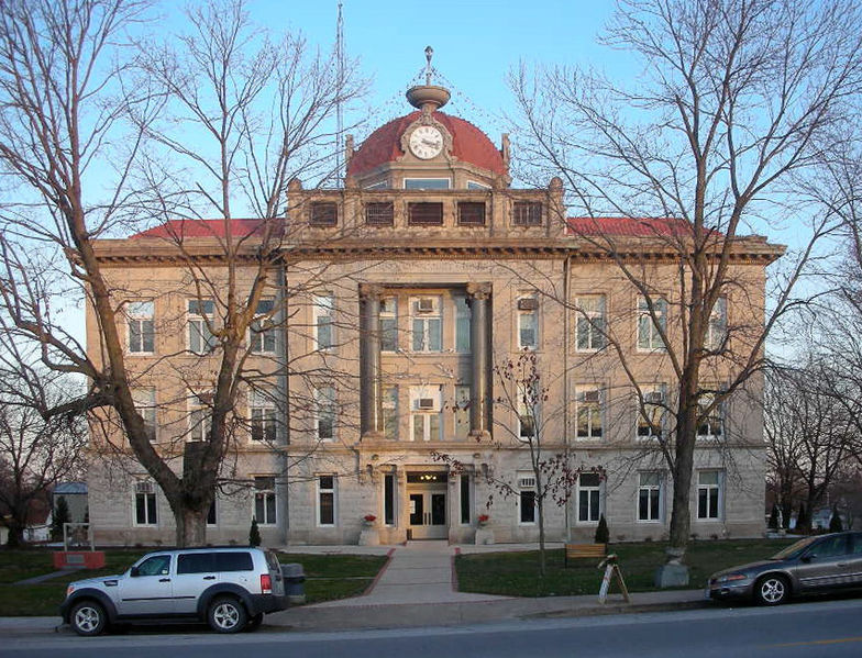 Monroe_County_Missouri_Courthouse Paris Missouri