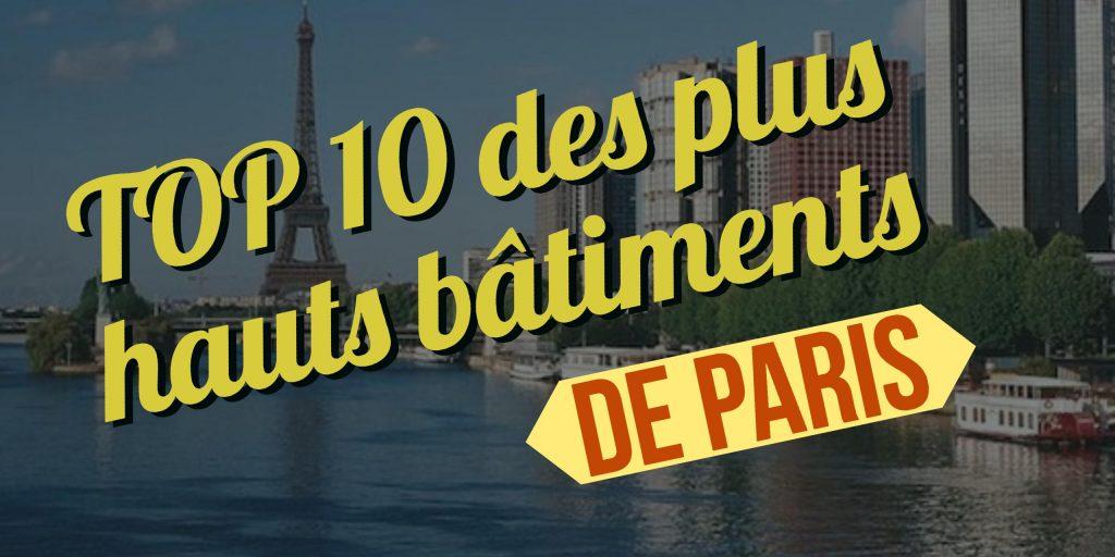plus hauts bâtiments de Paris