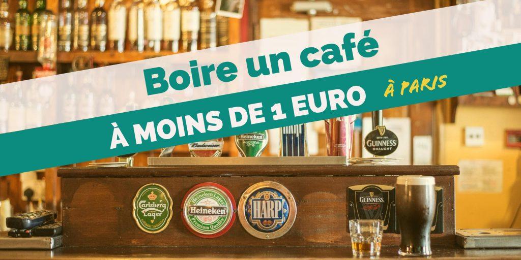 Boire un café à moins de 1 euro à Paris
