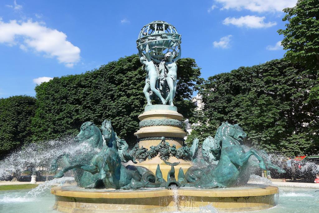 Que suis -je et où? ajonc -25 février Bravo Martine Fountains-Paris-fontaine-des-quatre-parties-du-monde