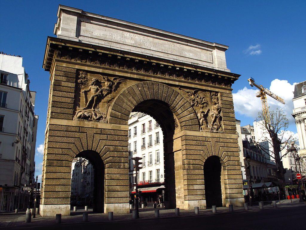 Porte Saint-Martin Arcs de Triomphe de Paris