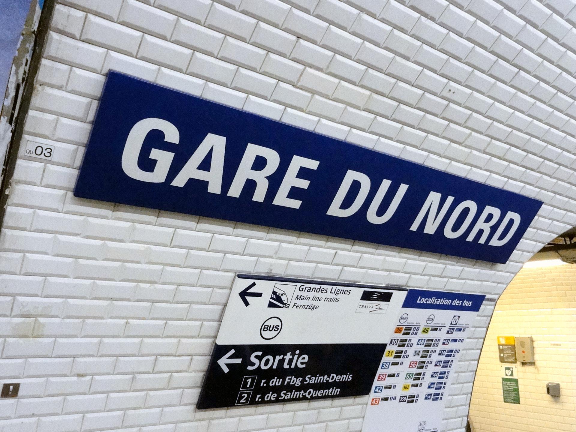 gare du nord mytoureiffel