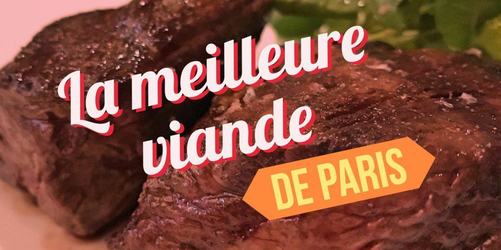 meilleure viande de paris