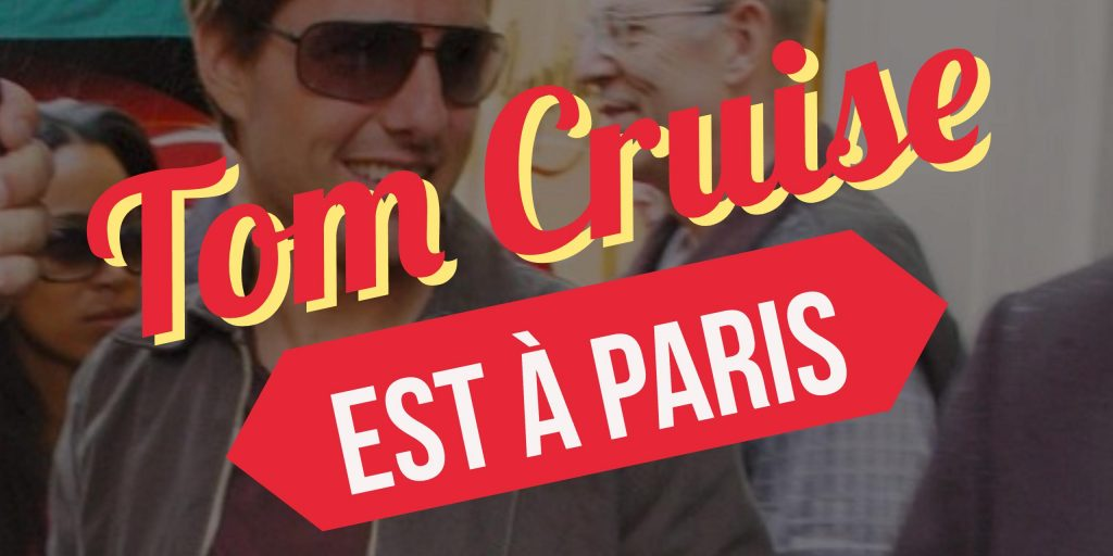 Tom Cruise a Paris