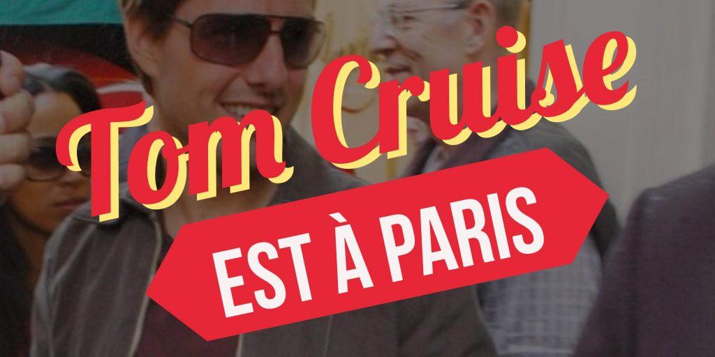Tom Cruise a Paris