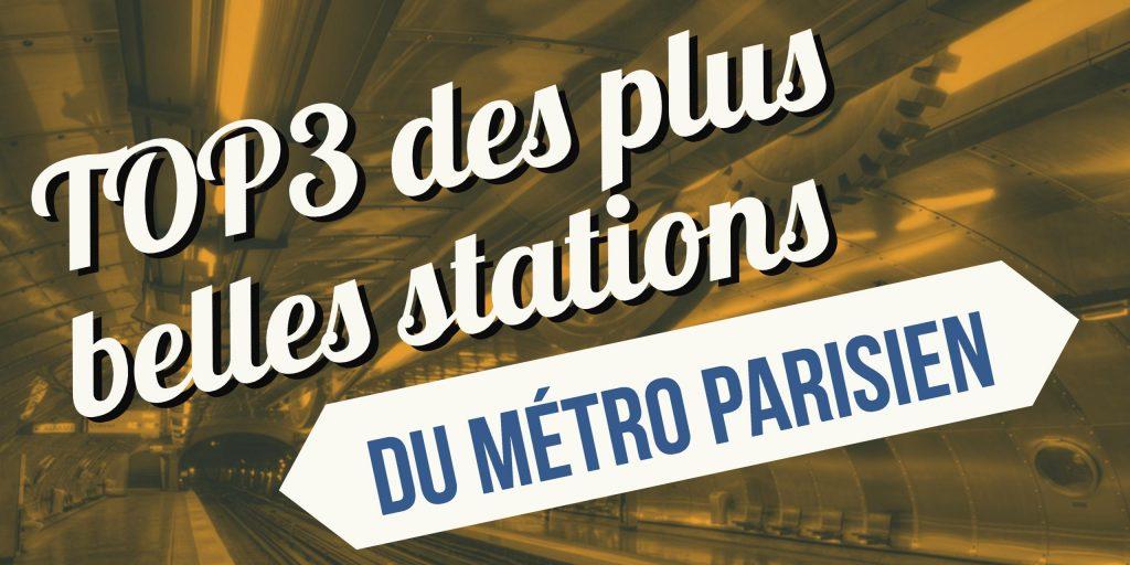plus belles stations de metro