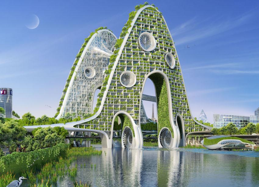 Paris en 2050 PONT AVAL