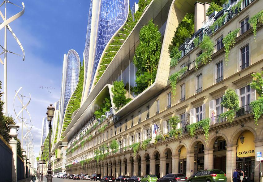 Paris en 2050 RIVOLI 2050