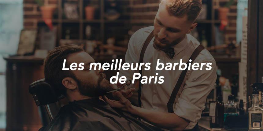 meilleurs barbiers de Paris