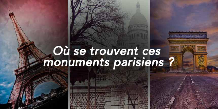 quizz arrondissements Paris