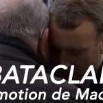 Bataclan : Emmanuel Macron prenant dans ses bras les proches des victimes du 13 novembre.