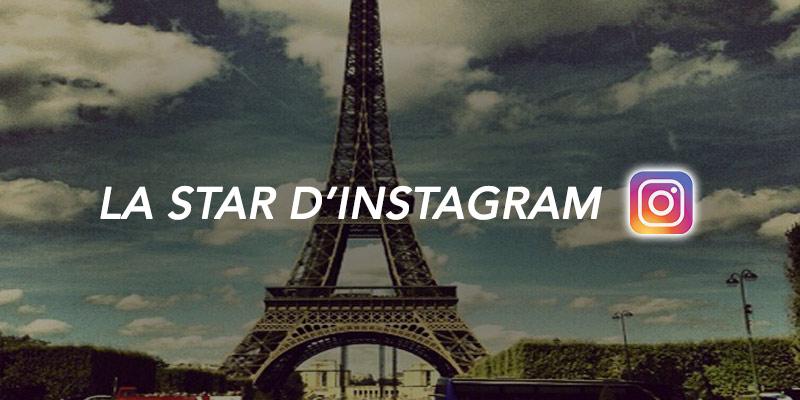 tour eiffel star d'instagram
