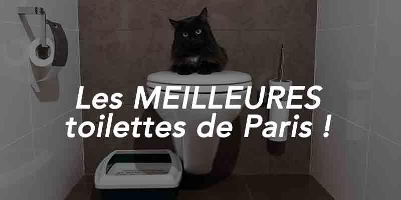 meilleures toilettes de Paris